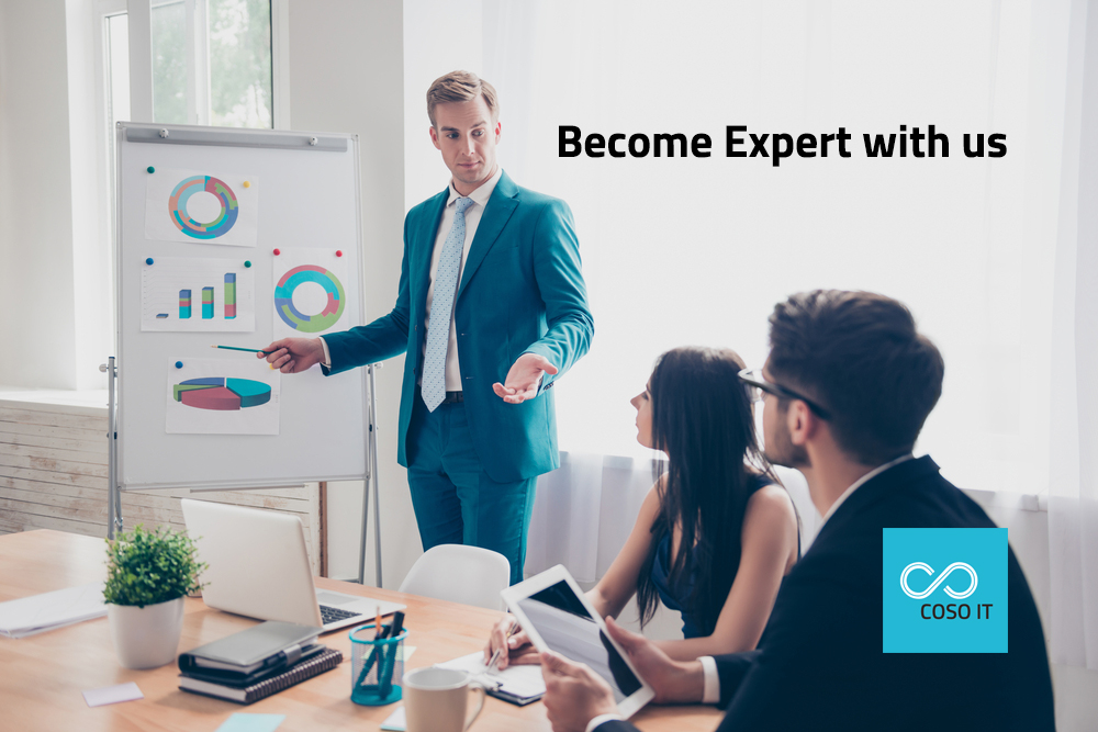 Become expert with us in Analytics
