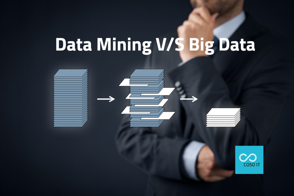 Difference in Data Mining and Big Data